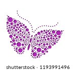 Vector Butterfly's Drawn With...