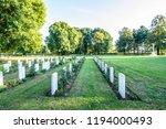 us military war cemetery   Shutterstock . vector #1194000493
