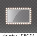 light rectangle banner isolated ... | Shutterstock .eps vector #1194001516