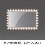 light rectangle banner isolated ... | Shutterstock .eps vector #1194001516