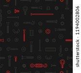 pattern construction hardware ... | Shutterstock .eps vector #1194002806
