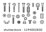simple set construction... | Shutterstock .eps vector #1194002830