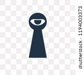 spyware vector icon isolated on ... | Shutterstock .eps vector #1194003373