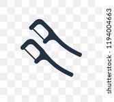 dental floss vector icon...   Shutterstock .eps vector #1194004663