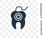 dental floss vector icon...   Shutterstock .eps vector #1194004969