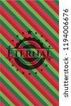 eternal christmas style badge.. | Shutterstock .eps vector #1194006676