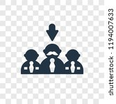 selection process vector icon... | Shutterstock .eps vector #1194007633
