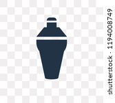 shaker vector icon isolated on... | Shutterstock .eps vector #1194008749