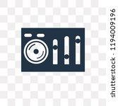 sound mixer vector icon... | Shutterstock .eps vector #1194009196