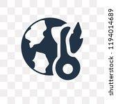 global warming vector icon...   Shutterstock .eps vector #1194014689
