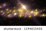abstract gold bokeh circles on... | Shutterstock . vector #1194015433