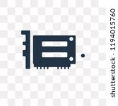 hardware vector icon isolated... | Shutterstock .eps vector #1194015760