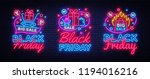 big collectin neon signs for... | Shutterstock .eps vector #1194016216