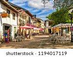 cacabelos  spain. circa... | Shutterstock . vector #1194017119