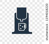 coffee maker vector icon... | Shutterstock .eps vector #1194018220