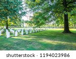 us military war cemetery cross   Shutterstock . vector #1194023986