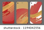 set fashionable abstract... | Shutterstock .eps vector #1194042556