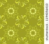 stylish branches elegant... | Shutterstock .eps vector #1194056410
