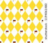 munich beer festival flags and... | Shutterstock . vector #1194061480