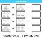 educational mathematical game... | Shutterstock .eps vector #1194087790