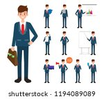 businessman character in job... | Shutterstock .eps vector #1194089089