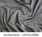 black sportswear texture silk... | Shutterstock . vector #1194113086