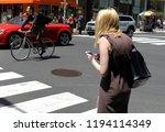 new york  usa   may 30  2018 ...   Shutterstock . vector #1194114349