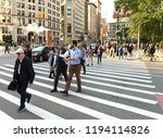 new york  usa   june 7  2018 ... | Shutterstock . vector #1194114826