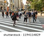 new york  usa   june 7  2018 ... | Shutterstock . vector #1194114829