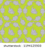 vector seamless pattern with... | Shutterstock .eps vector #1194125503