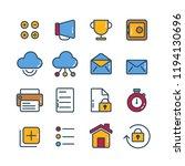 universal  business  finance... | Shutterstock .eps vector #1194130696
