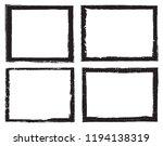 vector grunge frames.distress... | Shutterstock .eps vector #1194138319