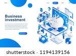 modern isometric design concept ... | Shutterstock .eps vector #1194139156