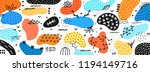 vector abstract creative... | Shutterstock .eps vector #1194149716