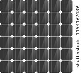 seamless solar cells pattern | Shutterstock .eps vector #1194162439