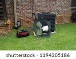 air conditioner compressor... | Shutterstock . vector #1194205186