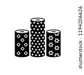 black   white vector... | Shutterstock .eps vector #1194206626