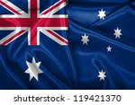australian national flag. | Shutterstock . vector #119421370