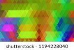geometric design  mosaic ...   Shutterstock .eps vector #1194228040