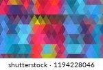 geometric design  mosaic ...   Shutterstock .eps vector #1194228046