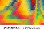geometric design  mosaic ...   Shutterstock .eps vector #1194228133