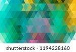 geometric design  mosaic ...   Shutterstock .eps vector #1194228160