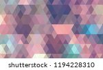 geometric design  mosaic ...   Shutterstock .eps vector #1194228310