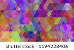 geometric design  mosaic ...   Shutterstock .eps vector #1194228406