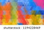 geometric design  mosaic ...   Shutterstock .eps vector #1194228469