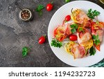 stuffed peppers with cottage...   Shutterstock . vector #1194232723