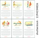 chocolate body spa and tanning... | Shutterstock .eps vector #1194234826