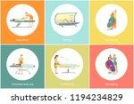 tanning spa salon procedure ... | Shutterstock .eps vector #1194234829