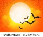 creative text of happy... | Shutterstock .eps vector #1194246073