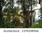 an old deserted socialist... | Shutterstock . vector #1194248566